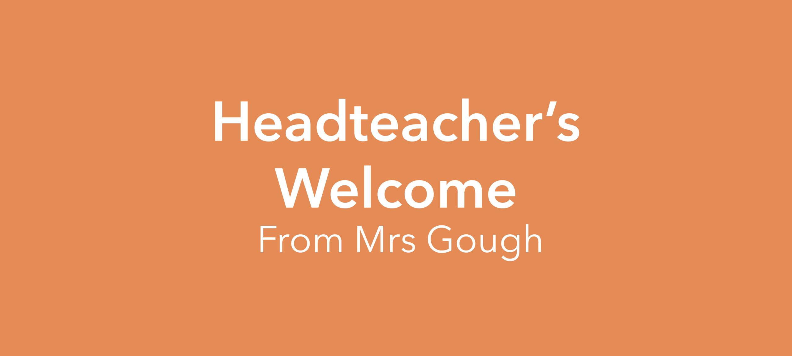 Headteacher's Welcome
